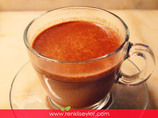 Meksika Usulü Sıcak Çikolata ev yapımı
