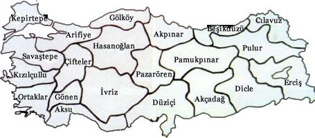 Türkiye Genelinde Köy Enstitüleri